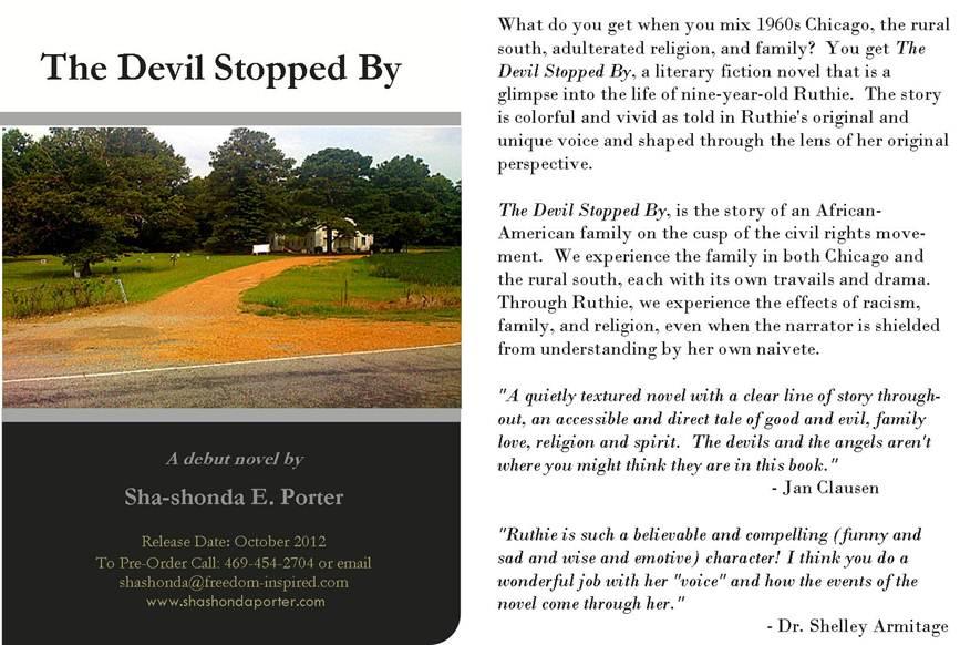 Pre order debut novel by sha shonda porter cohort compendium for Pre porter website